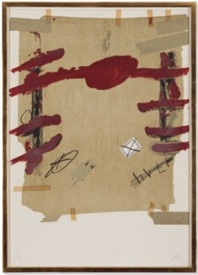 Semanas Catalanas En Berlin by Antoni TAPIES