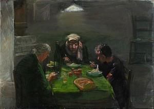 La Cena (kvällsmåltiden) by Alvar JANSSON