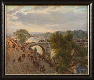 Pont Royal, Paris by Ingeborg WESTFELT-EGGERTZ