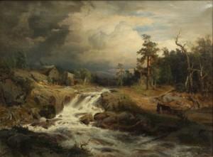 Wattenfall I Wermland by Gustaf RYDBERG