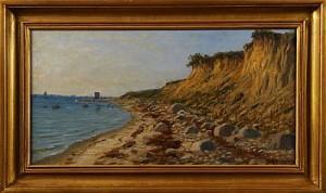 Strandparti Mellan ålabodarna Och Fortuna by Peter Adolf PERSSON