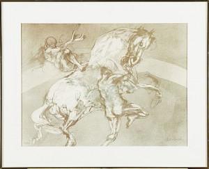 Cirkushäst by Claude WEISBUCH