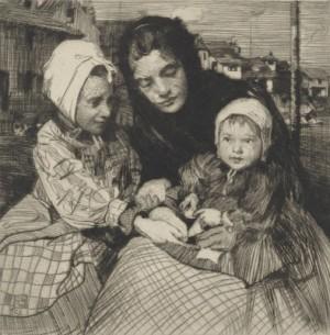 The Trio by William Lee HANKEY