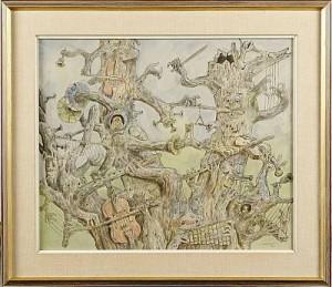Det Spelkande Trädet by Einar NORELIUS