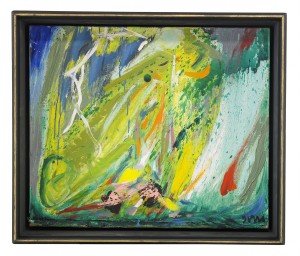 Tordenbyger Og Skypumpe Over Havet by Asger JORN