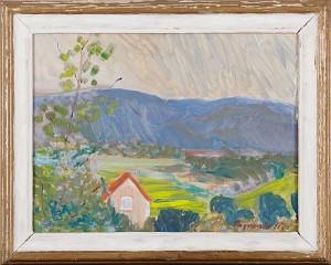 Hus I Landskap by Ragnvald 'Ragnvald M' MAGNUSSON