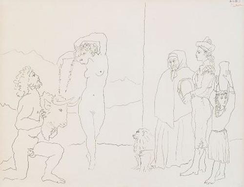 La Danse Des Banderilles, Bloch 752 by Pablo PICASSO