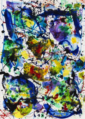 Untitled (sf86-078) by Sam FRANCIS