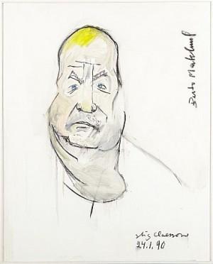 Porträtt Av Berto Marklund by Stig 'Slas' CLAESSON