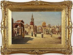 Orientaliskt Stadsmotiv by Karl KAUFMANN