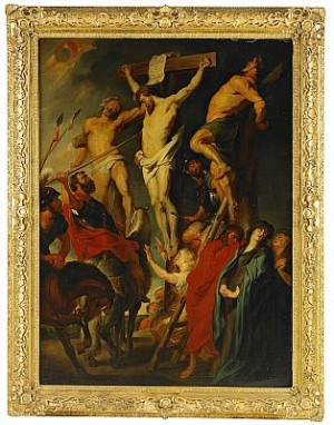 Korsfästelsen by Peter Paul RUBENS