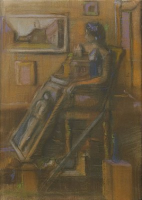 Sittande Kvinna by Endre NEMES