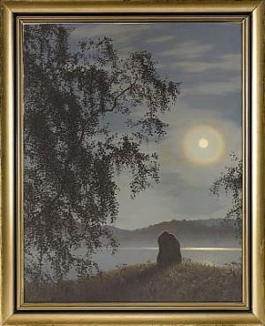Månsken över Racken by Gustaf FJÆSTAD