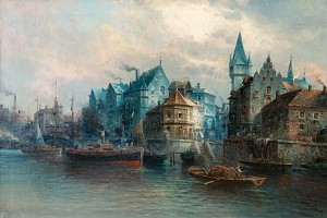 Harbor View by Karl KAUFMANN