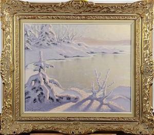 Vintermotiv by Jean SKOGLUND
