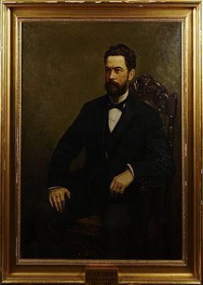 Porträtt Av A.alb.edgren by Bruno HOPPE