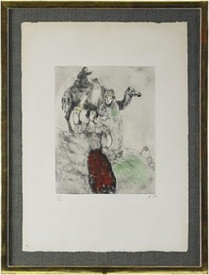 Ur La Bible by Marc CHAGALL