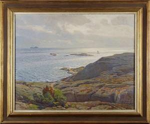 Motiv Från Marstrand by Nils ASPLUND