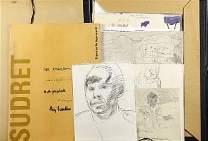 Mapp, Teckningar, Littografier, Skisser by Igge 'Igge K' KARLSSON