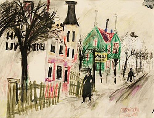 Hagalund by Olle OLSSON HAGALUND