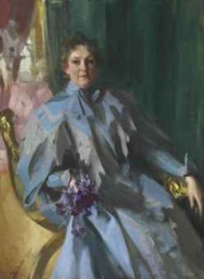 Portrait Of Lilly Eberhard Anheuser by Anders ZORN
