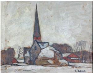 Vaksala Kyrka by Gusten WIDERBÄCK