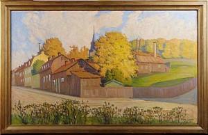 Motiv Från Värmdögatan (södermalm) by Aron GERLE