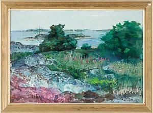 Landskap by Bertil WAHLBERG