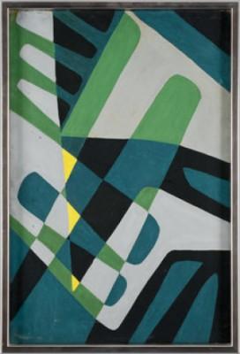 Geometrisk Komposition by Einar LYNGE-AHLBERG