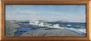 Kustlandskap by Gunnar WIDFORSS