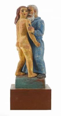 Rodin Och Hans Musa by Bror HJORTH