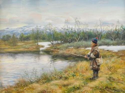 Vårstämning Vid Snasahögarna by Johan TIRÉN