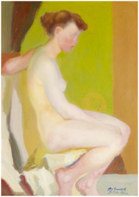 Nude by Georges Von SWETLIK