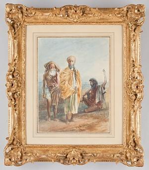 Indisk Figurscen by Egron LUNDGREN