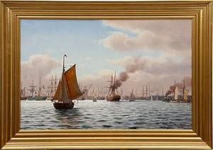 Köpenhamns Inlopp by Johan Jens NEUMANN