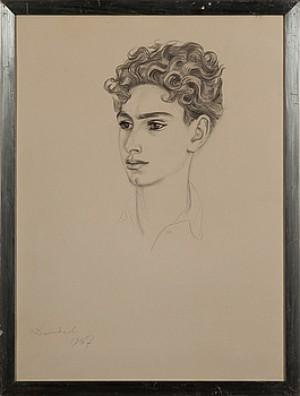 Italiensk Pojke by Nils Von DARDEL