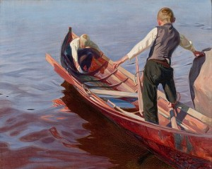 Boat Trip by Oskari PAATELA