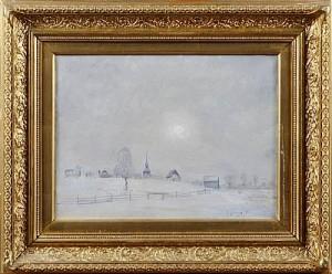 Motiv Från åre Gamla Kyrka by Anton GENBERG