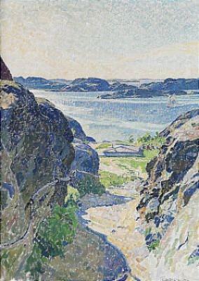 Brunnsvägen, Fiskebäckskil by Carl WILHELMSON
