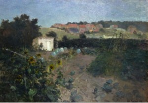 Kvällsstämning - Motiv Från Montreuil-sur-mer by Frits THAULOW
