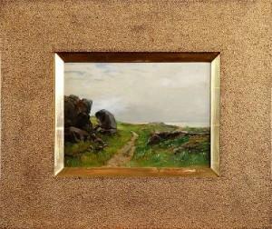 Landskapsmotiv Från östergötland 1890, by Severin NILSON