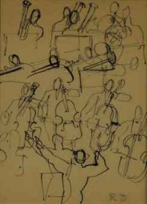Orchestre by Raoul DUFY
