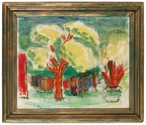 Gula Träd by Carl KYLBERG