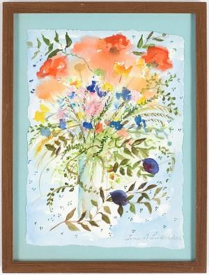 Blomsterstilleben by Lena LINDERHOLM