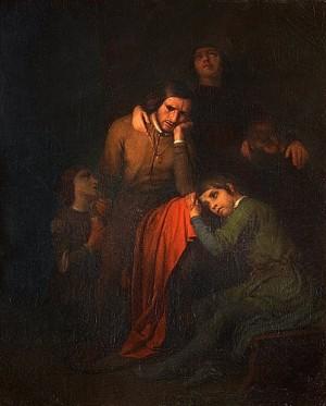 Ugolino Med Sina Barn Och Barnbarn I Hungertornet by Gustaf BRUSEWITZ