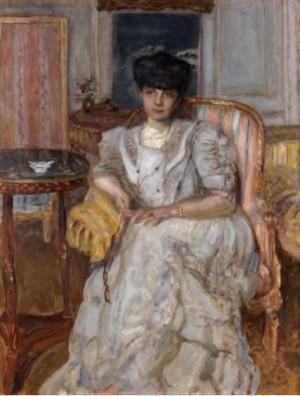Portrait De La Princesse Helene De Caraman-chimay by Pierre BONNARD