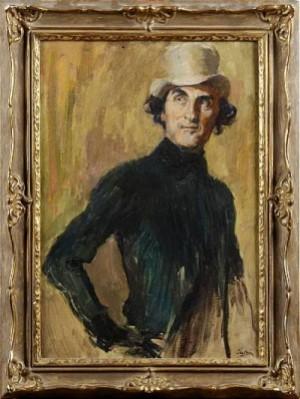 Porträtt Av Olof Winnerstrand by David TÄGTSTRÖM