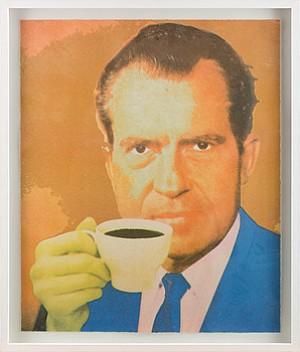 Porträtt Av Richard Nixon by Kjartan SLETTEMARK