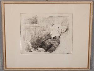Marie Von Heiroth by Albert EDELFELT