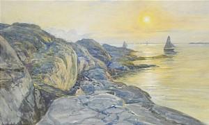 Vy Från Marstrandön Mot Sydväst by Anna GARDELL-ERICSON